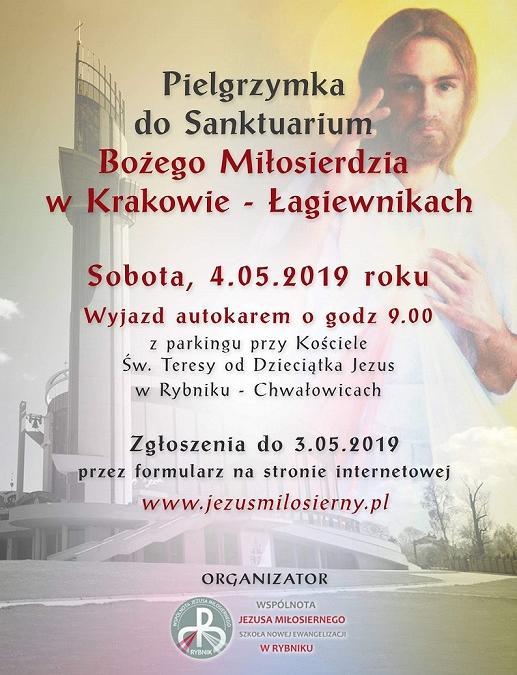 Pielgrzymka naszej Wspólnoty do Łagiewnik