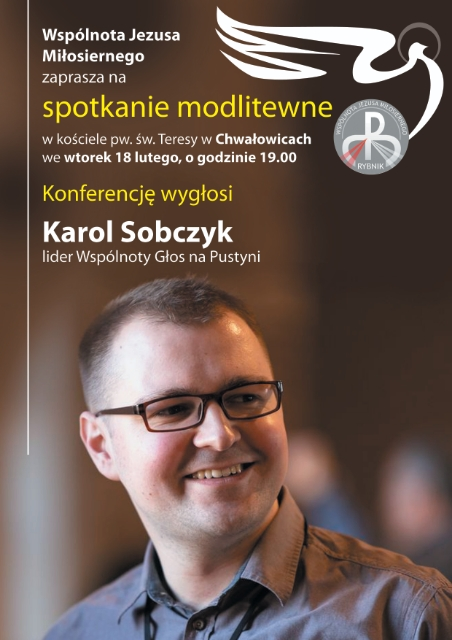 Spotkanie zgościem – Karolem Sobczykiem